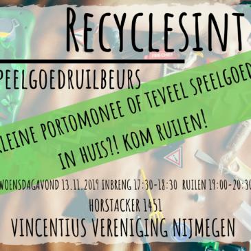 Recyclesint Speelgoedruilbeurs